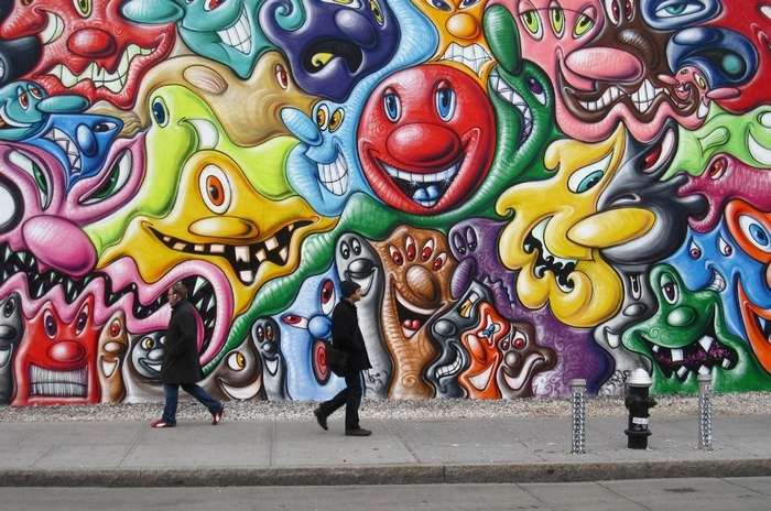 12 примеров невероятного преображения улиц с помощью граффити