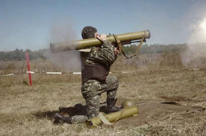 Реактивный огнемет РПО «Рысь» (СССР, Россия)