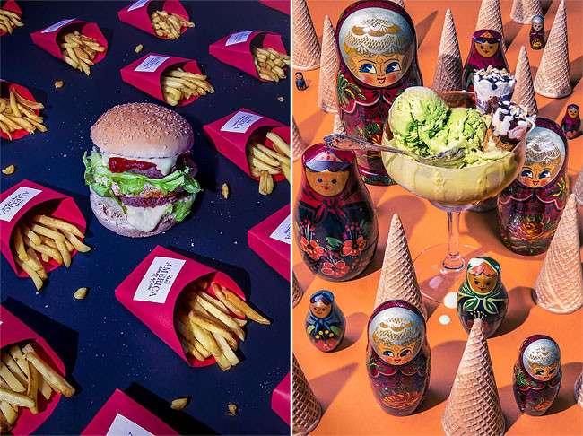 Любимая еда сильных мира сего в фотопроекте Дэна Баннино