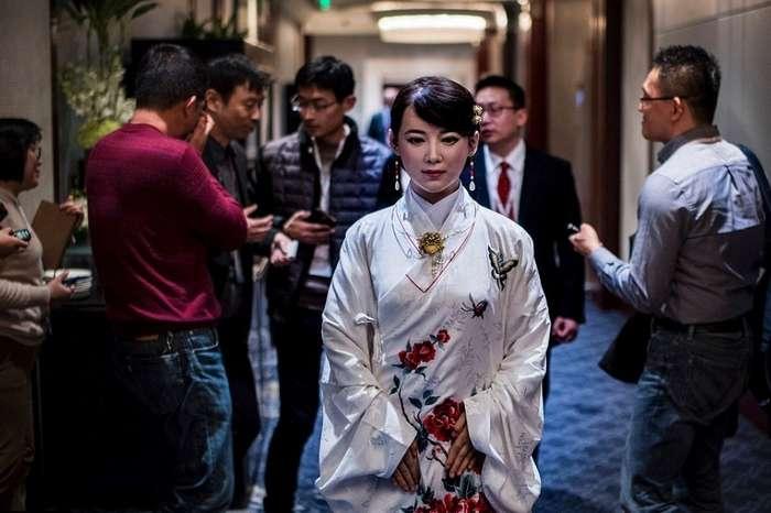 Цзя Цзя – китайский андроид.