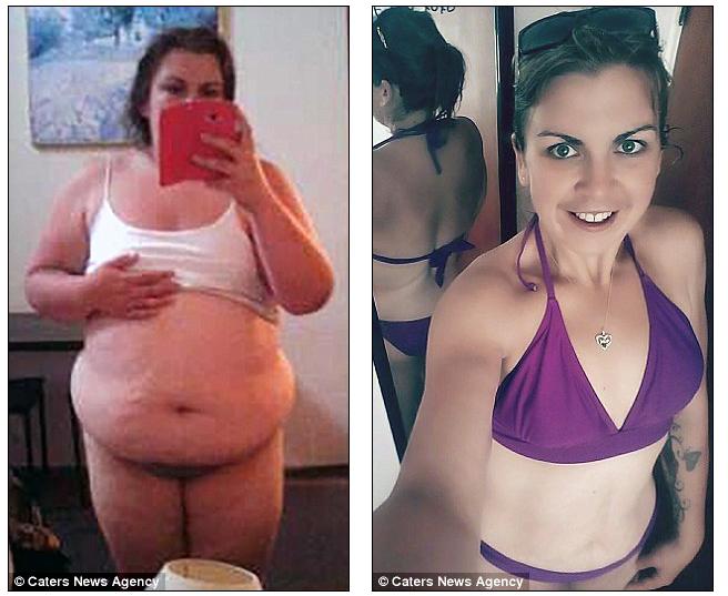 Мать 4 детей решила сбросить лишний вес, осознав, что ее дурные привычки переходят к детям