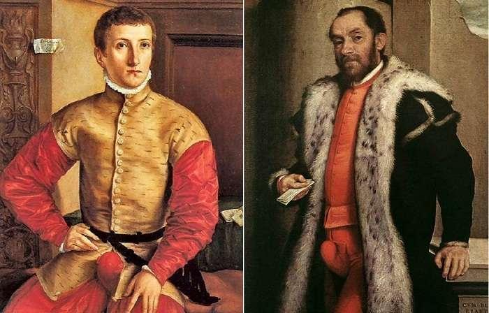 Гульфик – самая модная деталь мужского гардероба в XVI веке