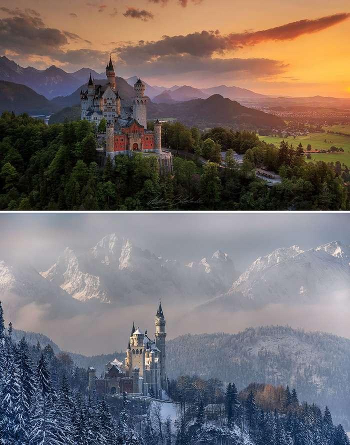 До и после: зимние преображения