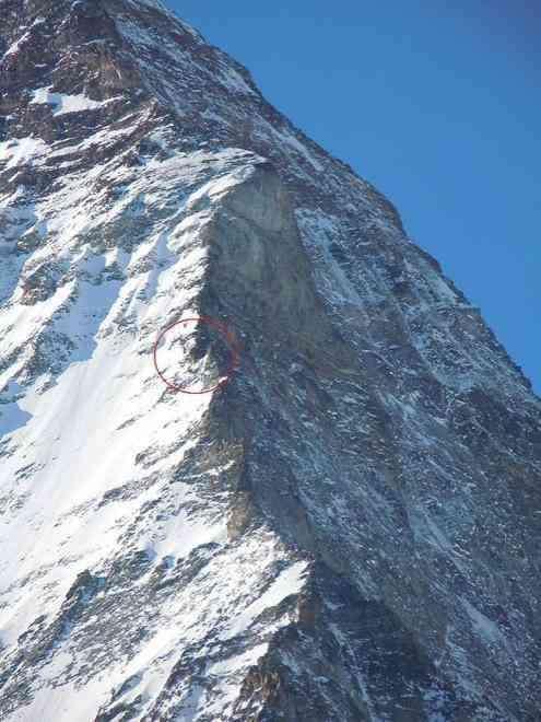 Вы видите эту маленькую точку в горах? Там находится хижина «Солвей»