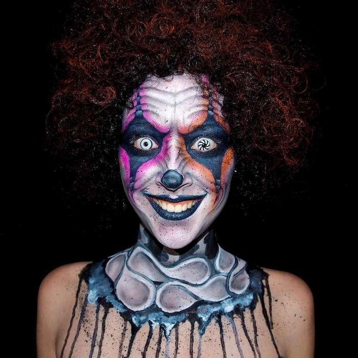 Австралийская художница создает на собственном теле фантастический боди-арт