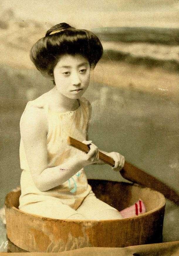 Японский пин-ап: 1870-1920 годы