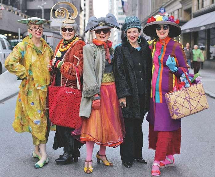 25 фото невероятно стильных пенсионеров