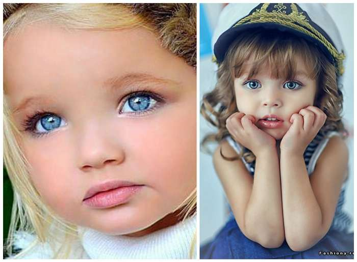 Самая красивые дети модель фото