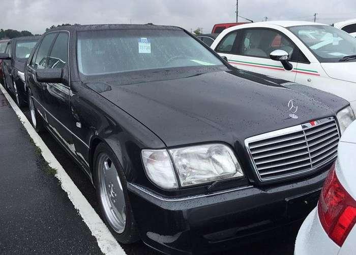 Mercedes-Benz S600L 7.0 AMG – Японские аукционы или как купить неликвид