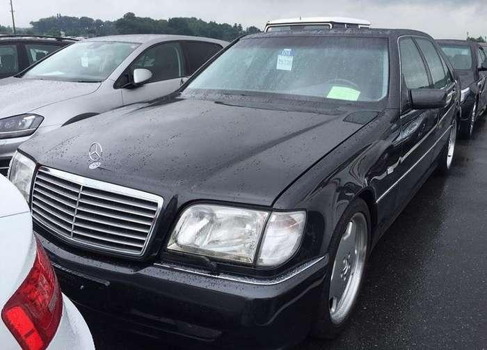 Mercedes-Benz S600L 7.0 AMG - Японские аукционы или как купить неликвид