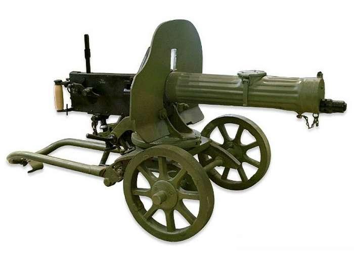 «Максим»: пулемёт, который менял истории России