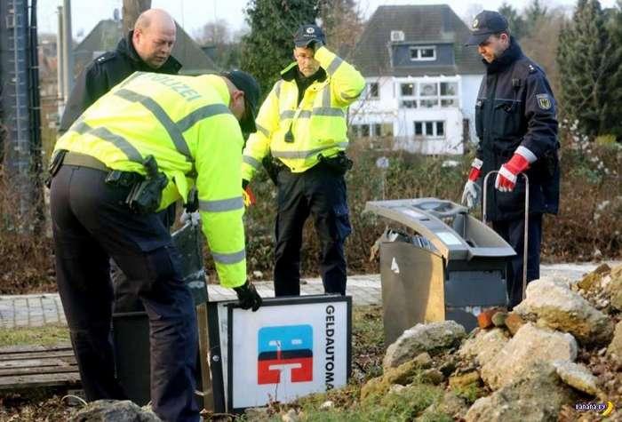 Немецкий способ взломать банкомат