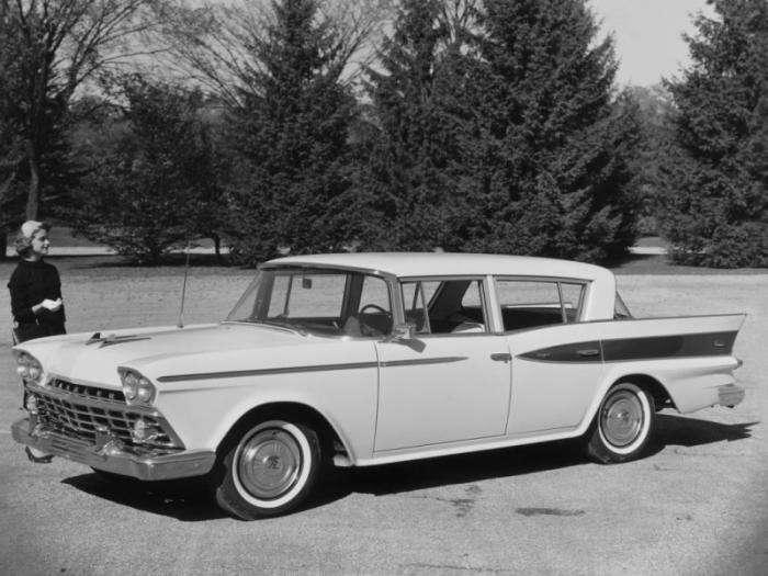 Забытые классические американские автомобили (10 фото)