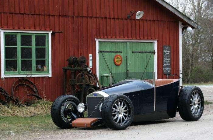 Caresto Hot Rod Jakob - невероятный хот-род Volvo (27 фото)