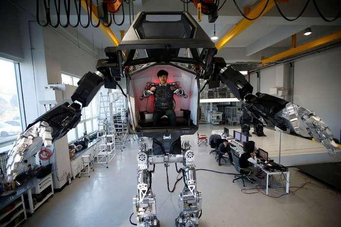 Пилотируемый робот «Метод-2» — совсем как в «Аватаре»