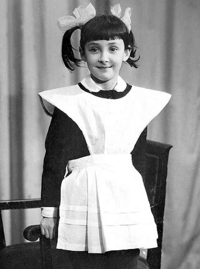 Российские знаменитости на детских фото