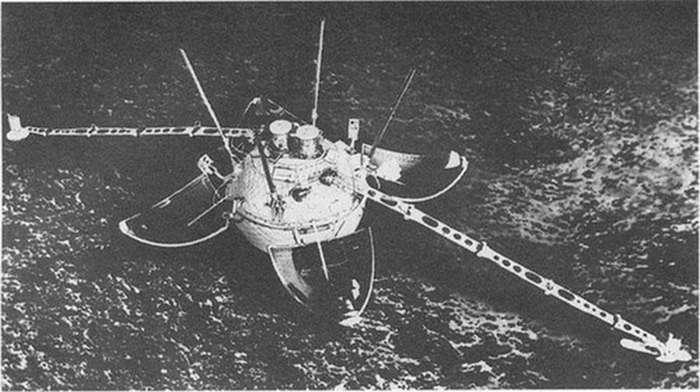 Советский аппарат «Луна-13» и его загадочные снимки