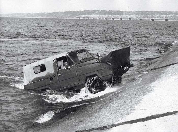6 советских автомобилией-амфибий, которые могут спокойно конкурировать с современными моделями