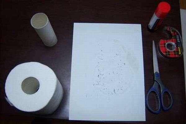 Прикол с бумагой (15 фото)