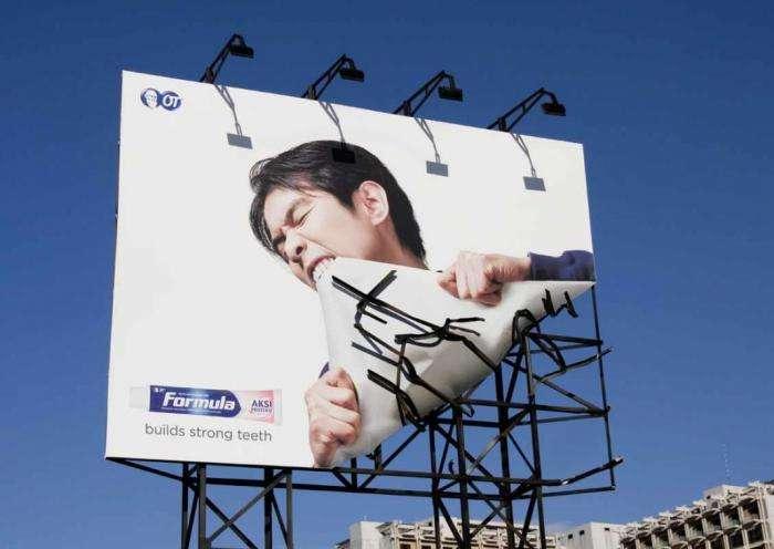 Самые необычные рекламные акции в мире (5 фото)