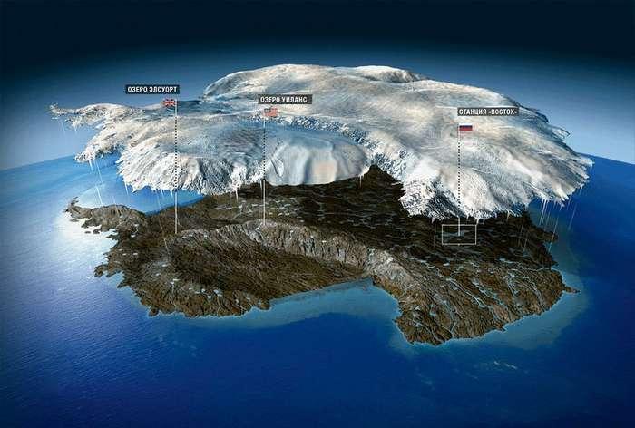 Четыре километра подо льдом: как российские ученые нашли в недрах Антарктиды затерянный мир