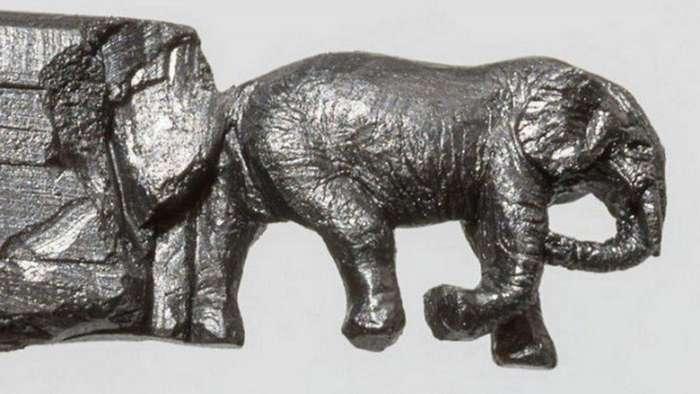 Карандашные слоны
