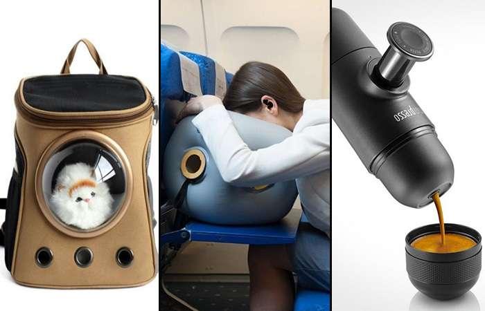 10 оригинальных вещей и устройств, которые сделают путешествие комфортным