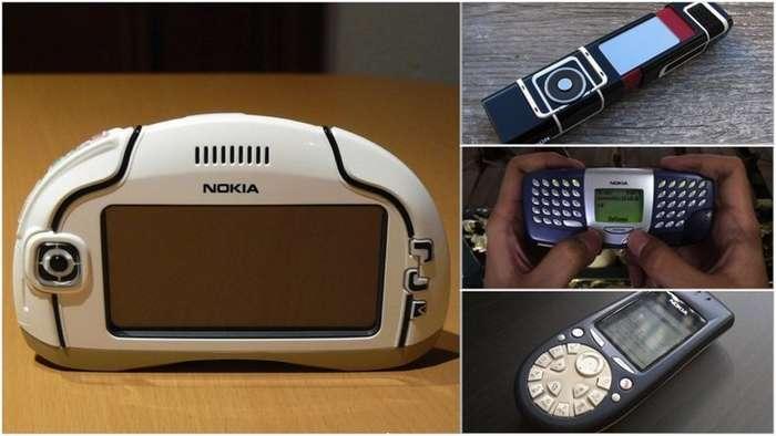 Чудные финны: 12 самых странных телефонов Nokia