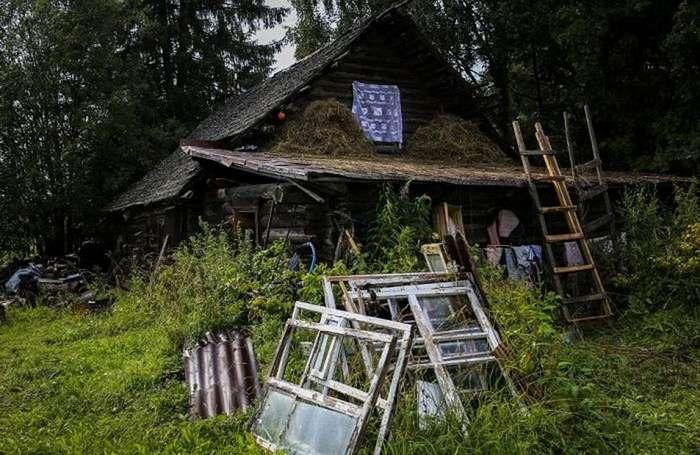 Жизнь в полузаброшенных подмосковных деревнях