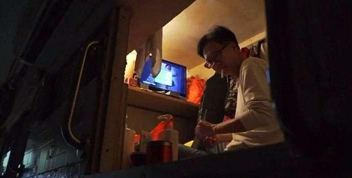 Двухметровое жильё на пике популярности в Гонконге