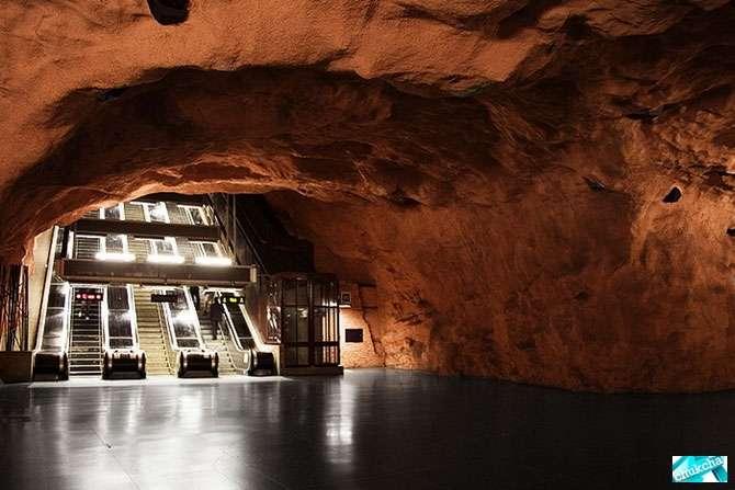 Самое красивое метро (39 фото)