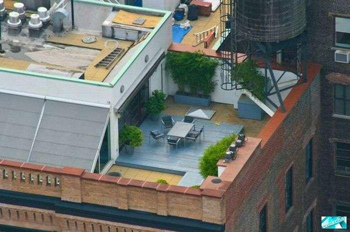Что на крышах богатых людей (20 фото)
