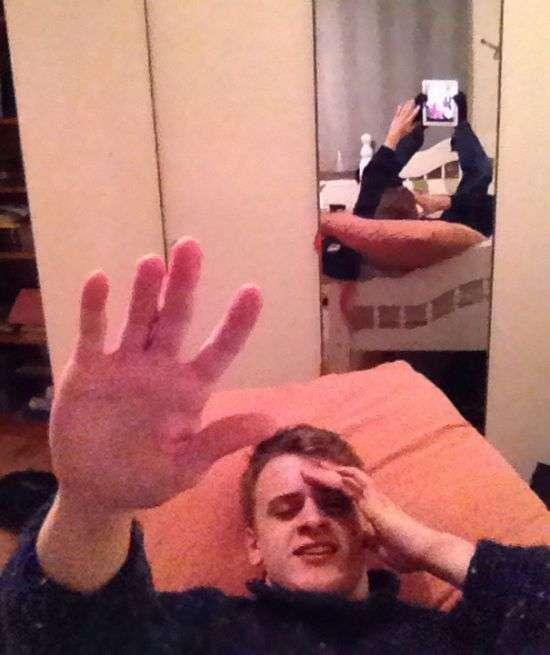 Неудачные селфи (30 фото)