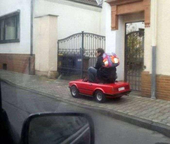 Автомобильный юмор (43 фото)