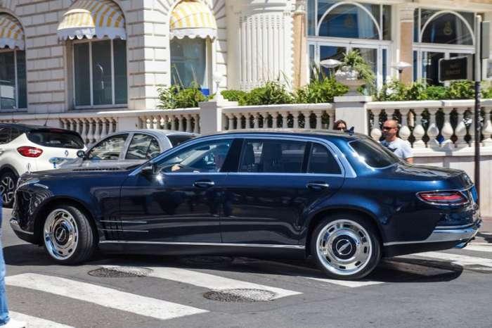 Уникальное творение американских мастеров - Mercedes-Benz Royale S600