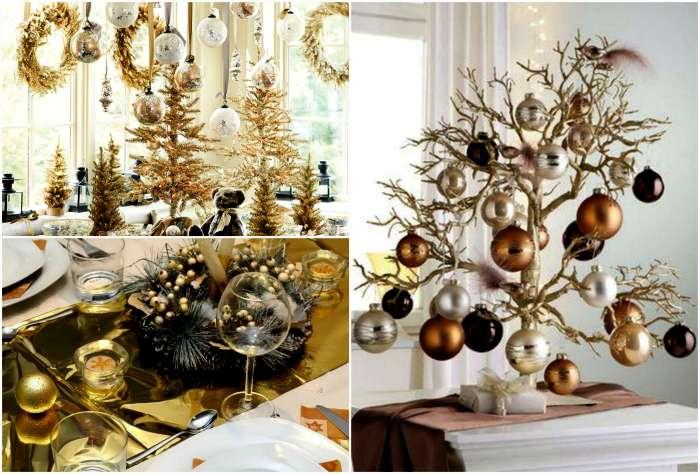 Новый год 2017: 18 блестящих идей и тенденций праздничного декора