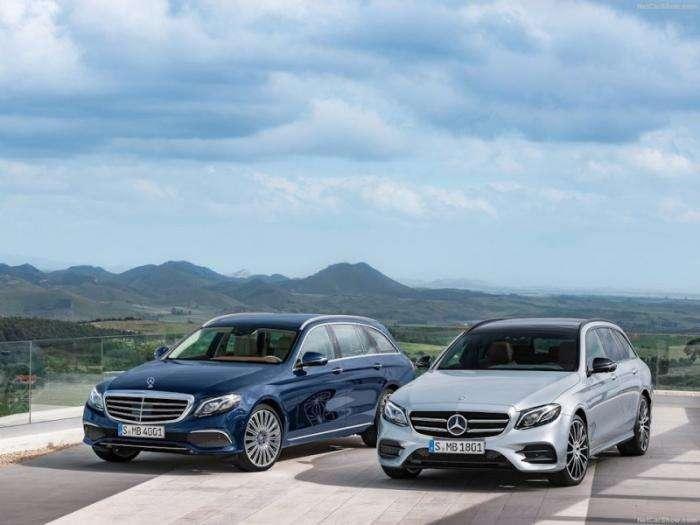 Джереми Кларксон - Mercedes E-класс универсал. Машина для математиков (20 фото)