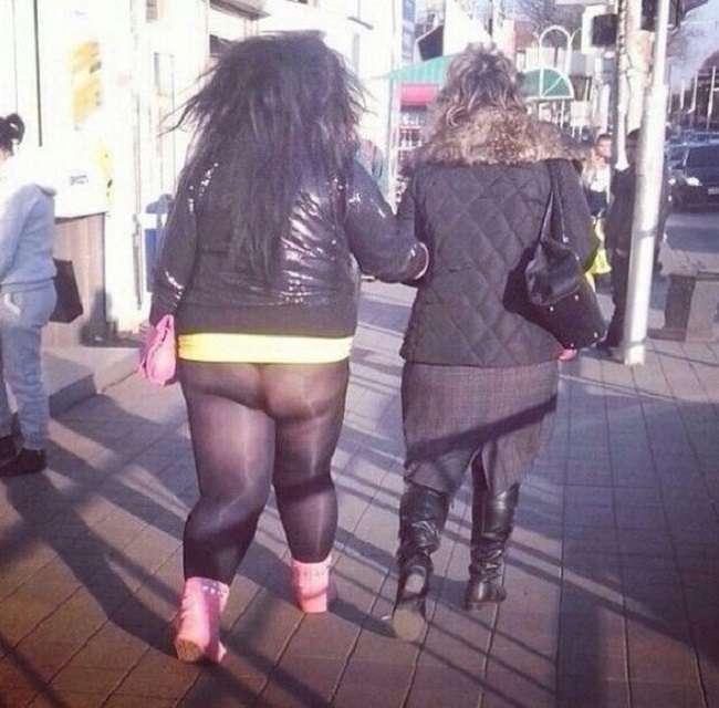 Убийственная уличная мода: 23 модника, которым чуждо чувство стыда (22 фото)