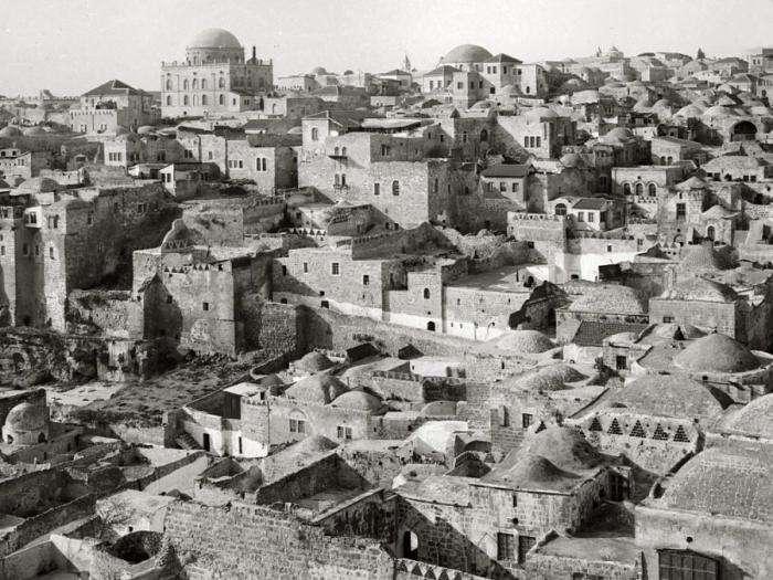 Святая земля в 19 веке (39 фото)