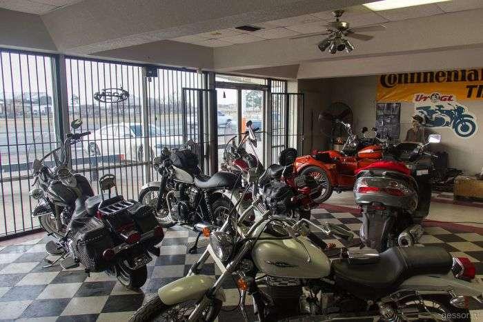 Как продают мотоциклы