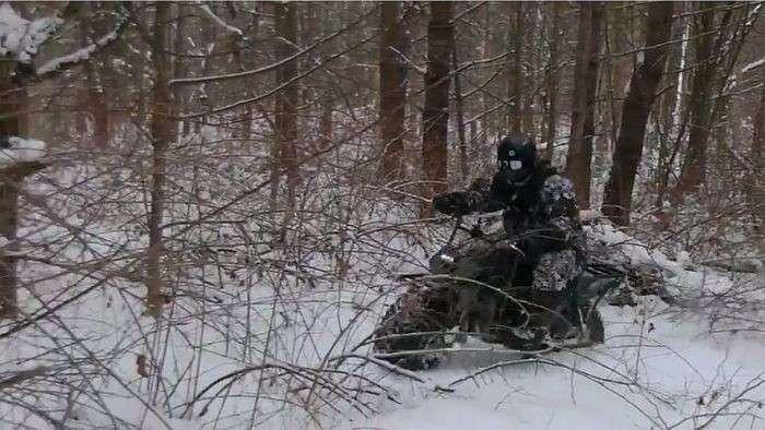 Калужцы выпустили новый мотовездеход «Тарусь 2?2»