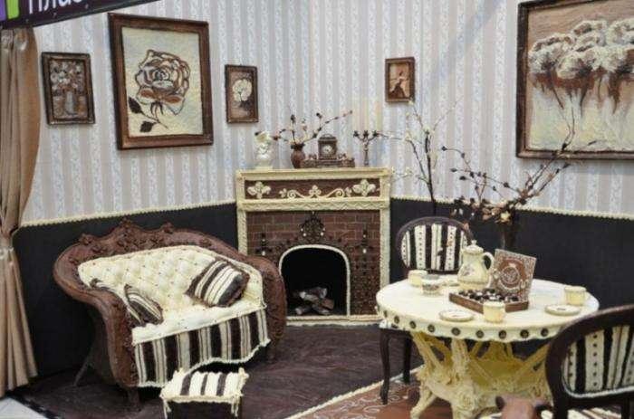 В Калининграде появилась комната из шоколада (7 фото)