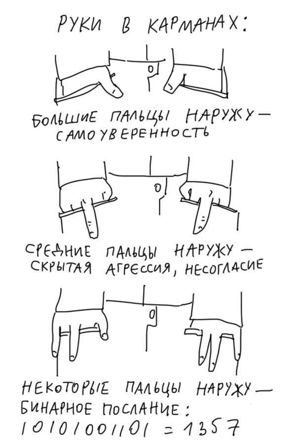 Как легко «прочитать» своего собеседника (5 фото)