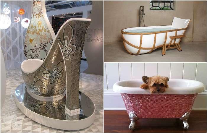 20 потрясающих дизайнерских ванн, которые просто поражают воображение