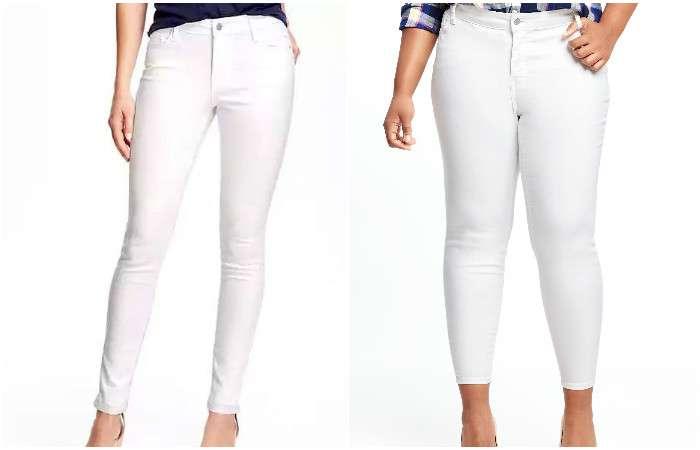 Белый, который остаётся белым: изобретены джинсы, которые совсем не боятся пятен