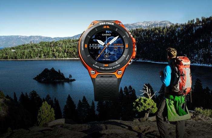 Компания Casio порадовала новыми высокотехнологичными часами