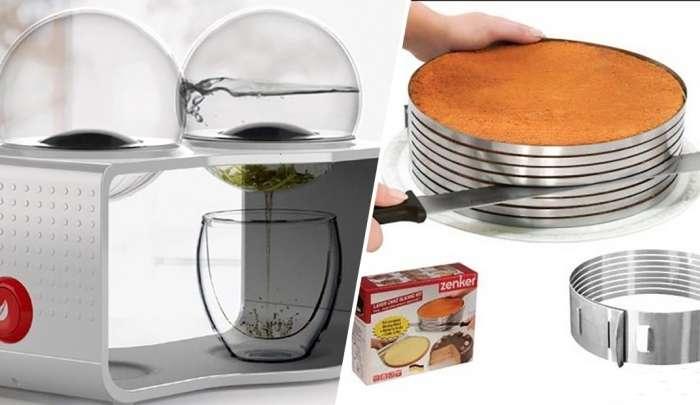 10 современных устройств для кухни, которые облегчат жизнь хозяйке