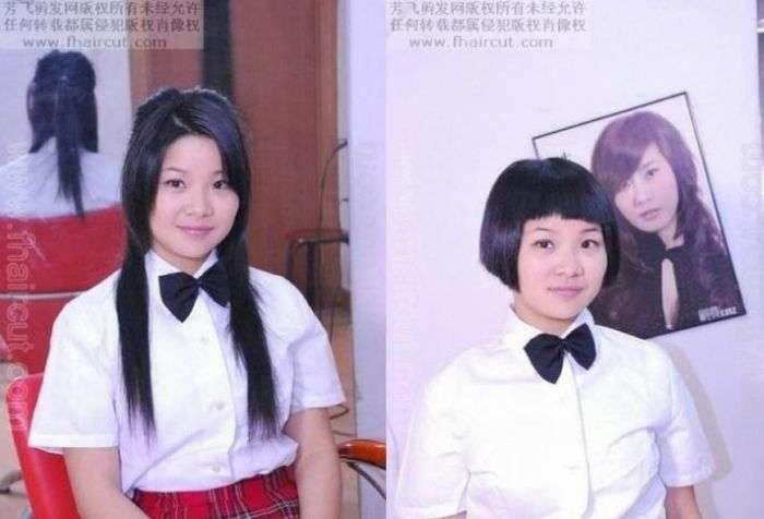 Модные китайские стрижки (13 фото)