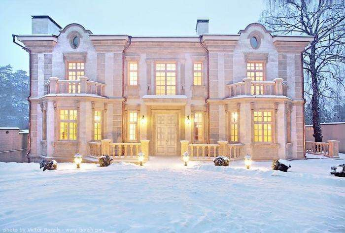 Дома на Рублевке (47 фото)