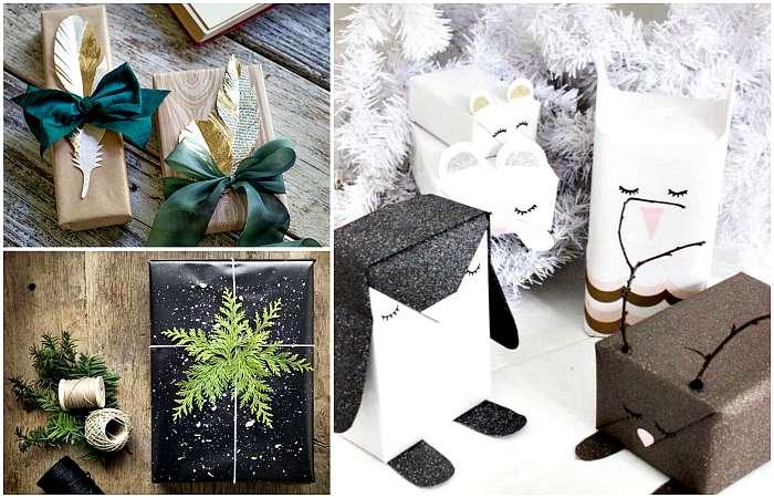 Последний штрих: 18 оригинальных идей упаковки и оформления новогодних подарков своими руками
